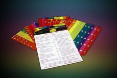 Boomwhackers Chroma-Notes Stick-Ons nuottitarrat.
