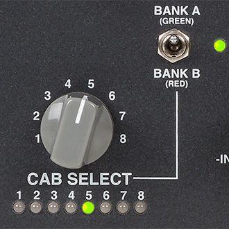 CabClone IR Plus kaiutinmallinnukset.