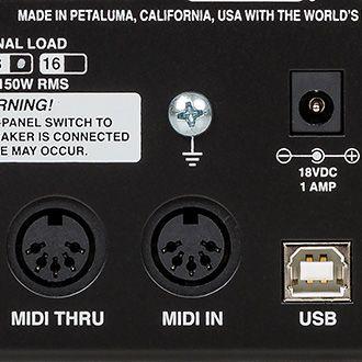CabClone IR Plus MIDI-väylät.