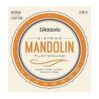 Daddario Flat Wound 011-036 mandoliinille EFW74