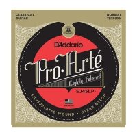 Daddario EJ45LP Pro Arte Light Polished Composite akustisen nylon kielisarja Normal Tension