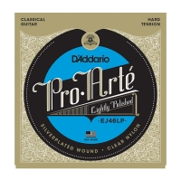 Daddario EJ46LP Pro Arte Lightly Polished Composite akustisen nylon kielisarja HardTension