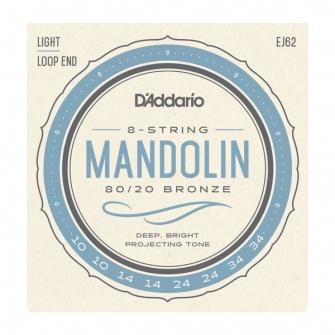 Daddario 010-034 mandoliinille EJ62