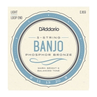 Daddario EJ69 Banjo kielisarja