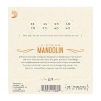 Daddario 011-040 mandoliinille EJ74