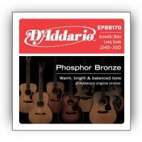 Daddario EPBB170 akustisen basson kielisarja 045-100