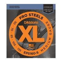Daddario EPS160-5 Pro Steels 050-135