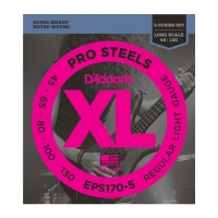 Daddario EPS170-5 ProSteels 5-K. 045-130 kielisarja