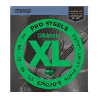 Daddario EPS220-5 Pro Steels 040-125