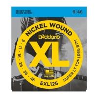 Daddario EXL125 009-046 kielisarja