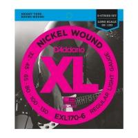 Daddario EXL170-6  6-K 032-130 kielisarja