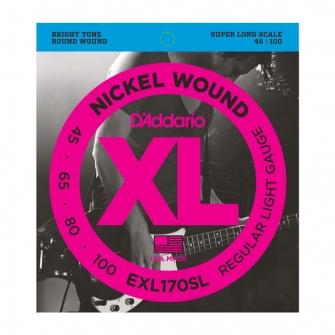 D Addario EXL170SL  045 -100 Super Long kielisarja