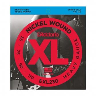 D Addario EXL230 055 - 110 kielisarja
