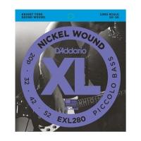 Daddario EXL280 020-052 Piccolo kielisarja