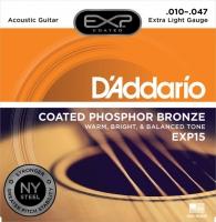 Daddario 010-047 EXP15 päällystetty