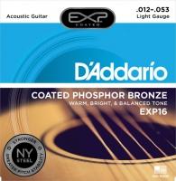 Daddario 012-053 EXP16 päällystetty
