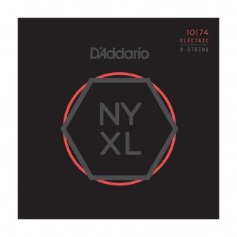 Daddario 10-74 NYXL 8 kieliselle