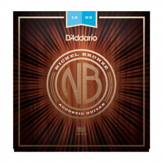 Daddario Nickel Bronze 12-53