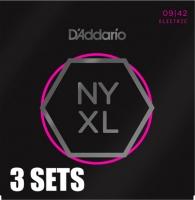 Daddario NYXL0942-3P Value Pack
