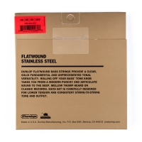 Dunlop Flatwound Bass 45-105
