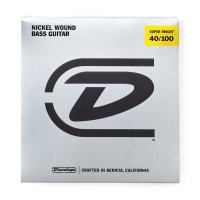 Dunlop Super Bright 40-100 Nickel Wound
