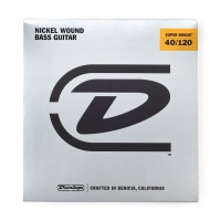Dunlop Super Bright 40-120 Nickel Wound