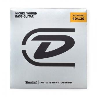 Dunlop Super Bright 40-120 Nickel Wound