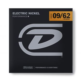 Dunlop Nickel Wound Performance+ DEN0962- 7-kielisen kitaran kielet.