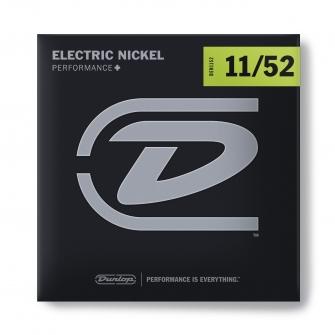 Dunlop Nickel Wound Performance+ DEN1152-sähkökitaran kielet.