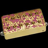 Steve Vai UtoPIA-kaulamikrofoni pinkkinä.
