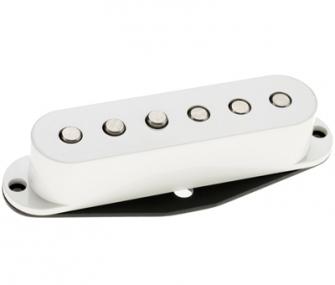 DiMarzio True Velvet keskimikki DP175S, valkoinen.