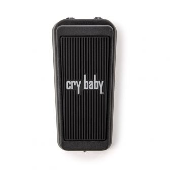Dunlop Cry Baby Junior päältä.