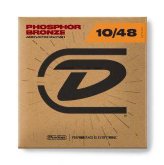 Dunlop 010-048 Phosphor Bronze DAP1048 akustisen kitaran fosforipronssikielet.