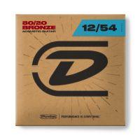 Dunlop 12-54 80/20 Bronze akustisen pronssikielet.