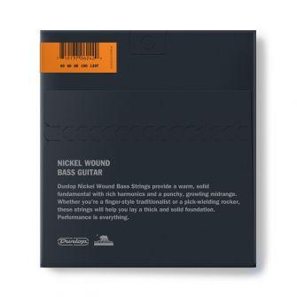 Dunlop DBN40120T 5-kielisen basson kielipaketti takaa.