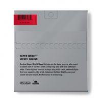 Dunlop Super Bright Nickel 45-105 Short Scale basson kielet.