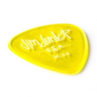 Dunlop Gels Yellow Extra Heavy plektra.