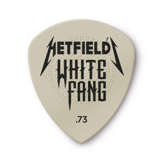 Dunlop 0,73mm Hetfield White Fang -plektra.