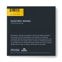 Dunlop Nickel Wound Performance+ DEN0838-sähkökitaran kielet.