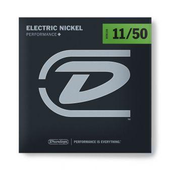 Dunlop Nickel Wound Performance+ DEN1150-sähkökitaran kielet.