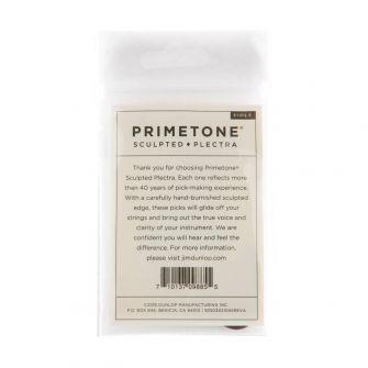 Dunlop Primetone Standard 2.5mm plektran pakkaus takaa.