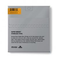 Dunlop Super Bright Steel 40-120 Short Scale basson kielet.