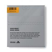 Dunlop Super Bright Nickel 40-120 Medium Scale basson kielet.