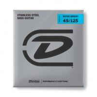 Dunlop Super Bright Steel 45-125 Medium Scale basson kielet.