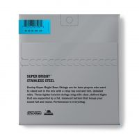 Dunlop Super Bright Steel 45-125 Short Scale basson kielet.