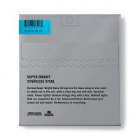 Dunlop Super Bright Steel 45-125 Short Scale basson kielet.