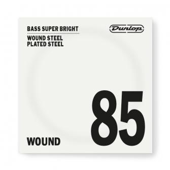 Dunlop DBSBS basson super bright teräksinen irtokieli.