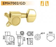 Dr. Parts sähkökitaran koneisto kulta