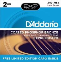 Daddario 012-053 EXP16-2DCAPO Bonus Pack