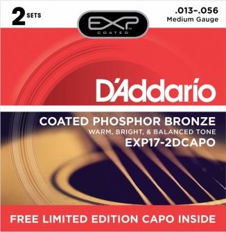 Daddario 013-056 EXP17-2DCAPO Bonus Pack